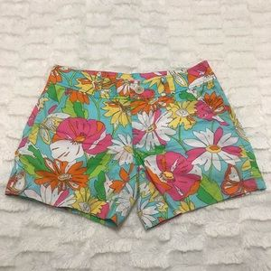 LILLY PULITZER Paint by Numbers Callahan Shorts 0